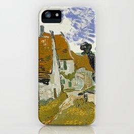 Vincent Van Gogh Street In Auvers-Sur-Oise iPhone Case