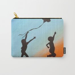 children shadows Carry-All Pouch