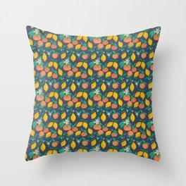 Citrus Throw Pillow
