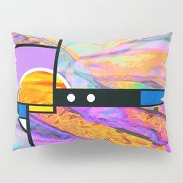 Mondrian Sunset Pillow Sham