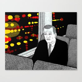 A Stop at Willoughby Canvas Print