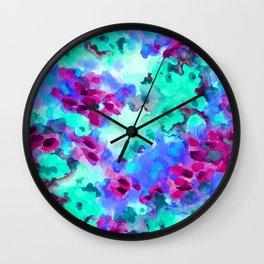 Flourish 3 Wall Clock