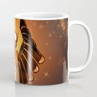 angel Mugs featuring Angel by nicky2342