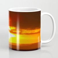 sunset Mugs featuring Sunset by ....