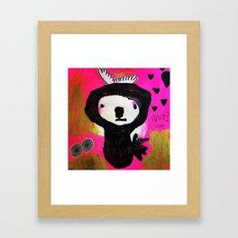 Why fall in love? Framed Art Print