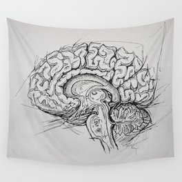 Brain Wall Tapestry
