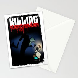 Killing Kardashian Front Cover Art Stationery Cards