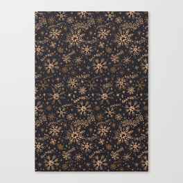 SnowFall Canvas Print