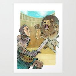 Gladiador Art Print