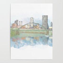 Birmingham Bridge Poster