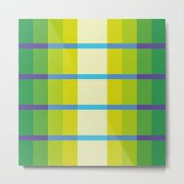 parallel crossing Metal Print