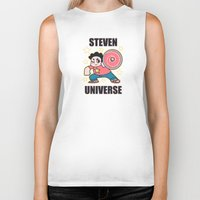 steven universe Biker Tanks featuring Steven by ZoeStanleyArts