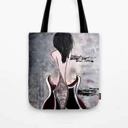 Relentless Rhythm. Illustrated for the book by author Michelle Mankin Tote Bag