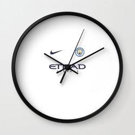 manchester city it 1 Wall Clock