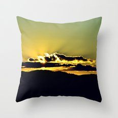 The Sky Is The Limit. Throw Pillow