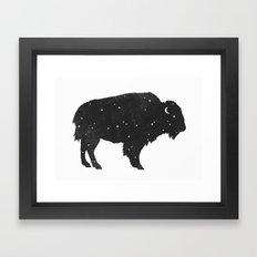 Mystic Buffalo  Framed Art Print
