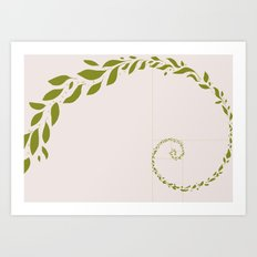 Sweaty Leaves Art Print