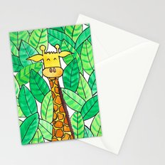 Watercolor Giraffe Stationery Cards