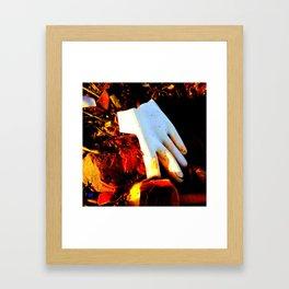 Rubber Glove Five Framed Art Print