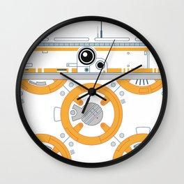 Minimal BB8 Droid Wall Clock
