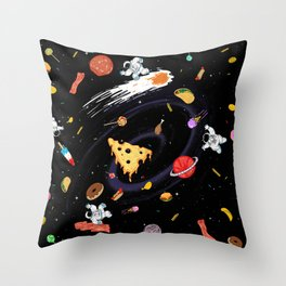 Super High Calorie Way Deluxe version Throw Pillow