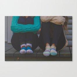 wool socks. Canvas Print