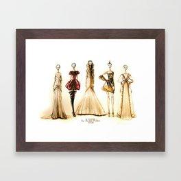 """""""In Memoriam: Lee Alexander McQueen (He Left Beauty Behind)"""" Framed Art Print"""