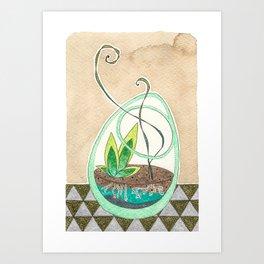 Terrarium VI Art Print