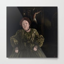 Marie Delphine LaLaurie.  Metal Print