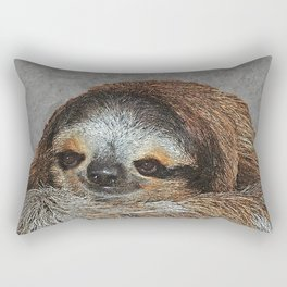 SLOTH LOVE Rectangular Pillow
