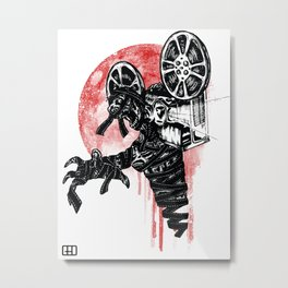 A Film By The Mummy Metal Print