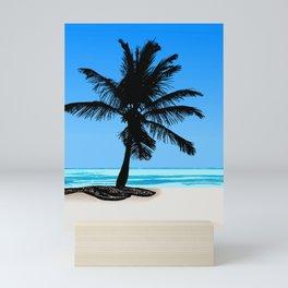 The Beach Mini Art Print