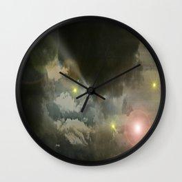 Cosmic Storm. Wall Clock