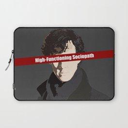 Sherlock: High-Functioning Sociopath Laptop Sleeve