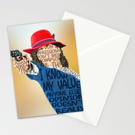 Peggy Carter Knows Her Value Stationery Cards