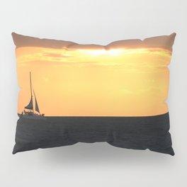 Sunset Sail Pillow Sham