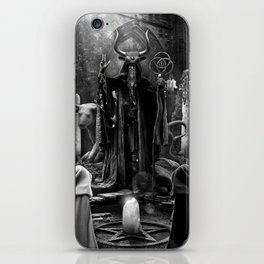 V. The Hierophant Tarot Card Illustration  iPhone Skin