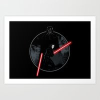 sith Art Prints featuring Sith Uprising by Steven Toang