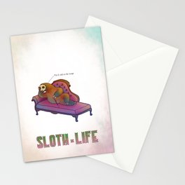 SLOTH LIFE fig. 4. Stationery Cards
