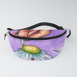 Hand study #2. Chamomile Fanny Pack