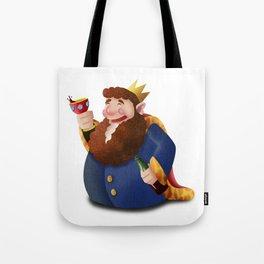 Rey de copas Tote Bag