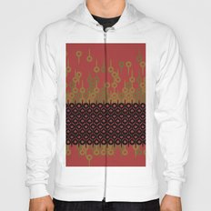 Pattern 1, Red Hoody
