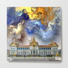 Palace in heaven Metal Print