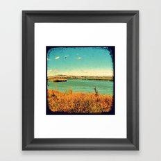 Dangars Lagoon - Through The Viewfinder (TTV) Framed Art Print