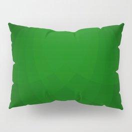 Emerald Divergence Pillow Sham
