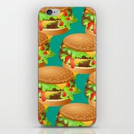 Double Cheeseburgers iPhone Skin