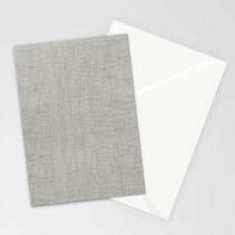 DESERT LINEN MUDCLOTH . GRANITE Stationery Cards