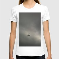 gray T-shirts featuring Gray Sky by Mauricio Santana