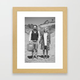 The Runaways BW Framed Art Print