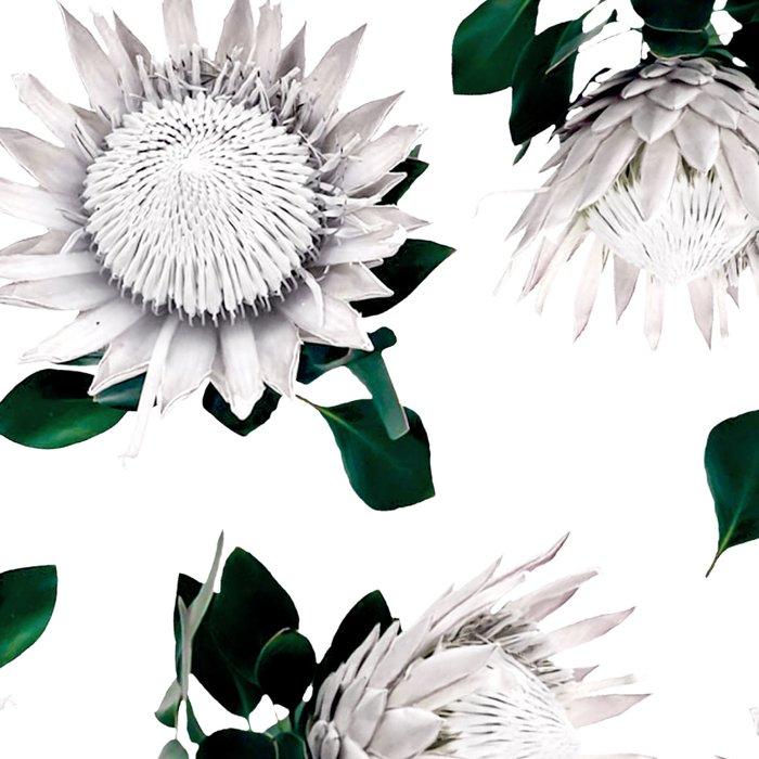 Protea Floral Pattern Leggings